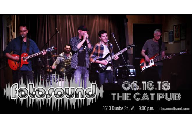 Upcoming Show: June 16th 2018 at The Cat Pub