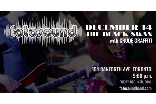 Upcoming Show: December 14th at The Black Swan