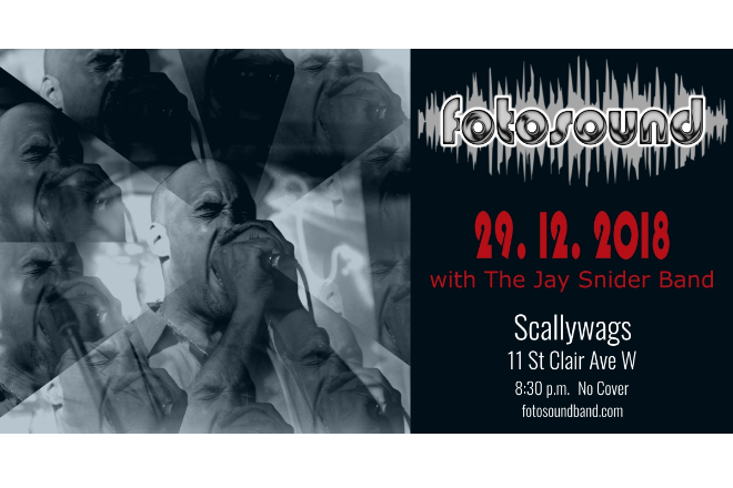 Upcoming Show: December 29th at Scallywags