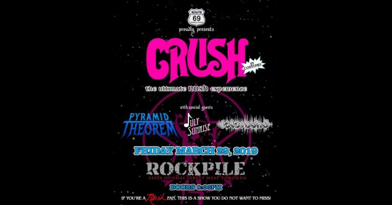 Upcoming Show: March 29th at The Rockpile