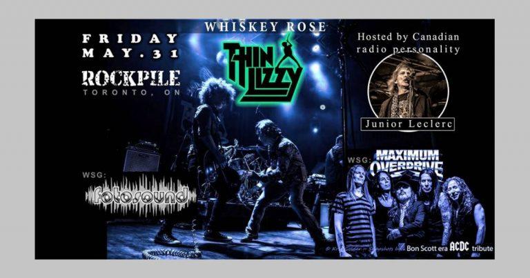 Upcoming Show: May 31st at The Rockpile