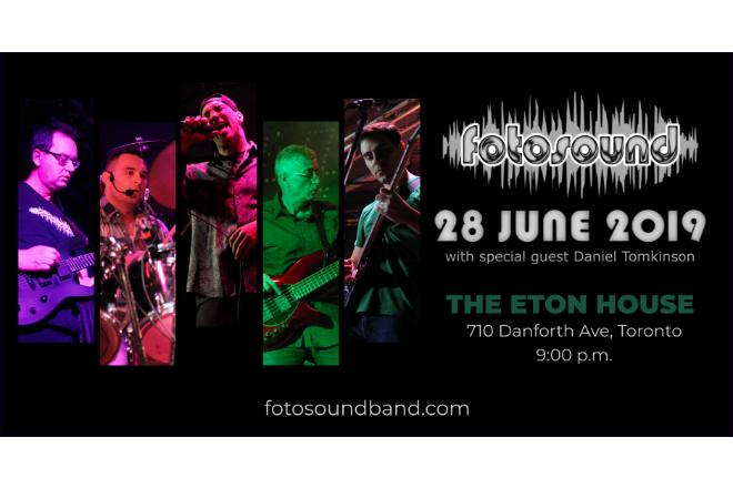 Upcoming Show: Eton House June 28th